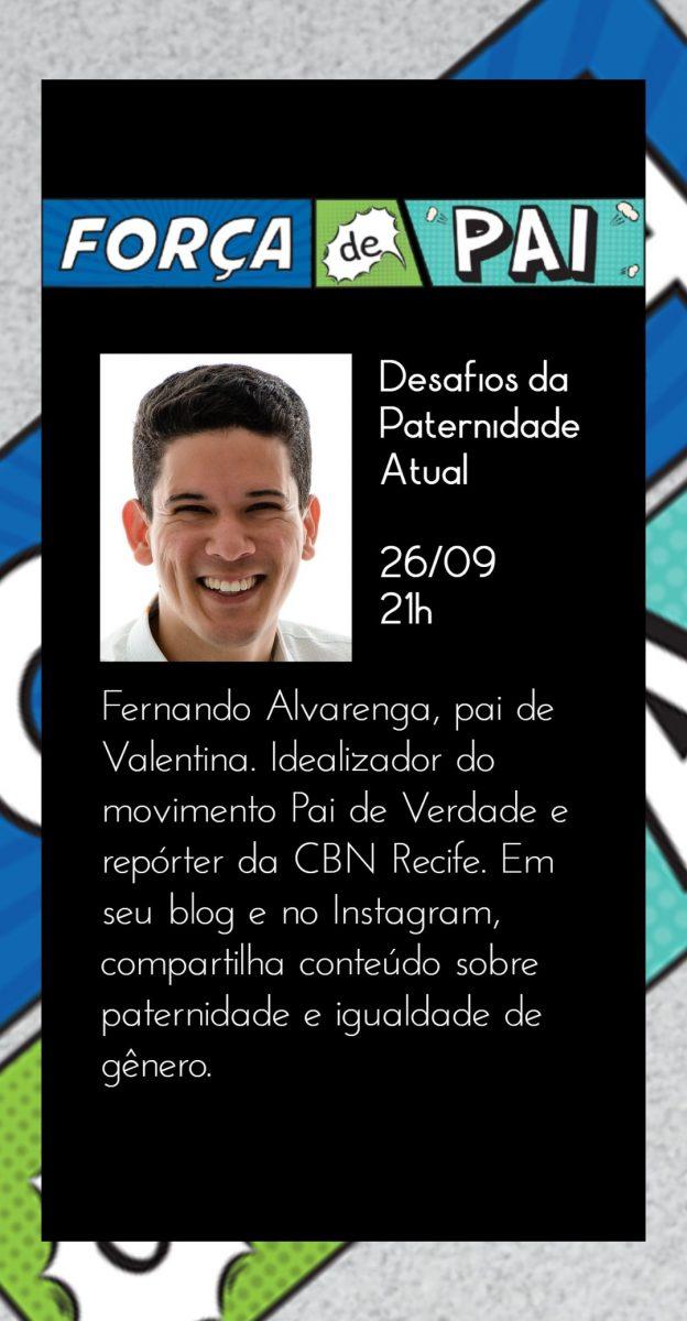 Fernando Alvarenga scaled - FORÇA DE PAI 2020 – O encontro que celebrou a diversidade paterna!