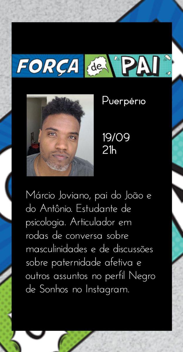 Marcio Joviano scaled - FORÇA DE PAI 2020 – O encontro que celebrou a diversidade paterna!