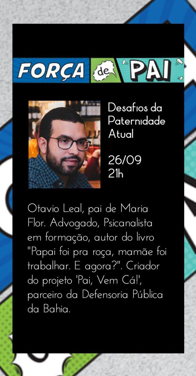 Otavio Leal scaled - FORÇA DE PAI 2020 – O encontro que celebrou a diversidade paterna!
