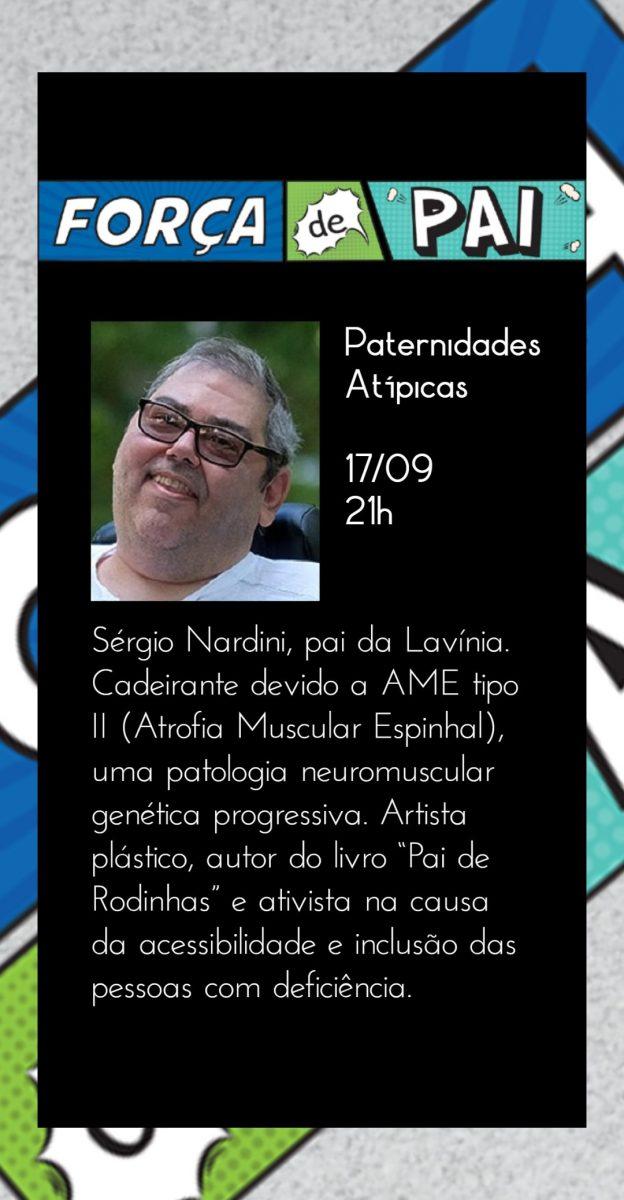Sergio Nardini scaled - FORÇA DE PAI 2020 – O encontro que celebrou a diversidade paterna!