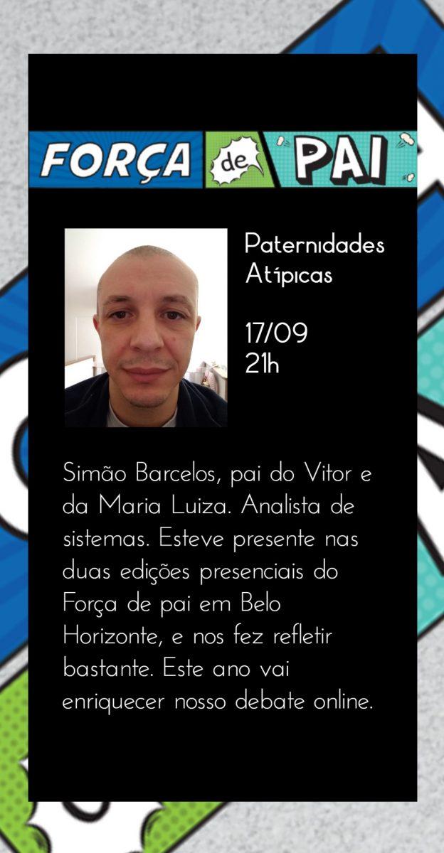 Simao Barcelos scaled - FORÇA DE PAI 2020 – O encontro que celebrou a diversidade paterna!