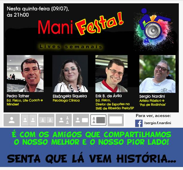 Live 6 Senta que la vem historia - RELATOS DE UM CONFINADO DE RODINHAS