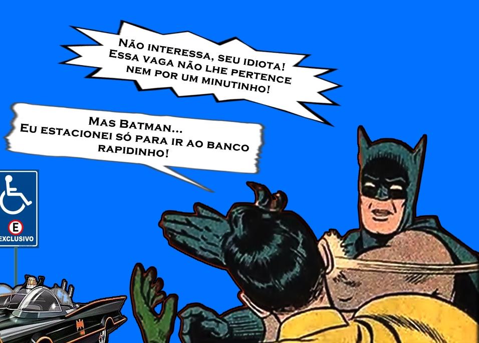 Batman 2 - A PESSOA COM DEFICIÊNCIA PELAS LENTES EMBAÇADAS DO 'CAPACITISMO'