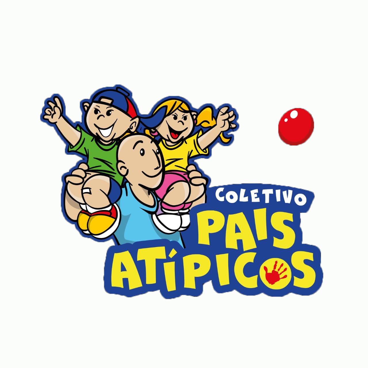 Logo - PATERNIDADE + INCLUSÃO X DIÁLOGOS = COLETIVO PAIS ATÍPICOS